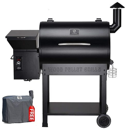 Z Grills ZPG 8-In-1 Wood Pellet Smoker And Grill