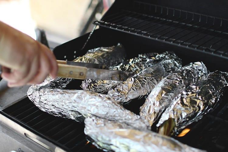 Corn In Aluminum Foil