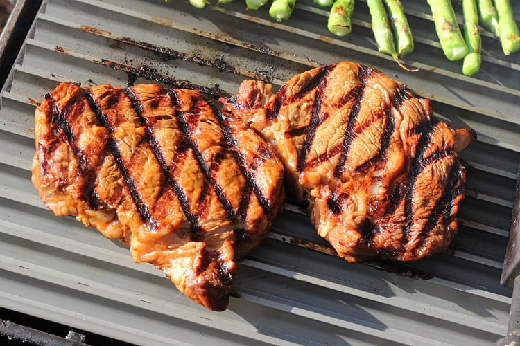 Marks On Meat