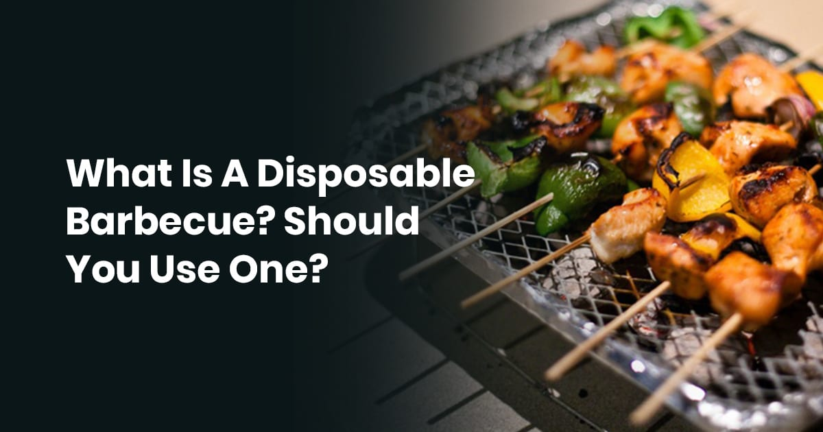 What Is A Disposable Barbecue? Should You Use One?
