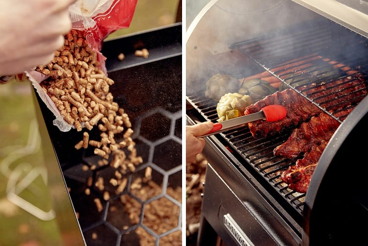 Pellet And Gas Grills