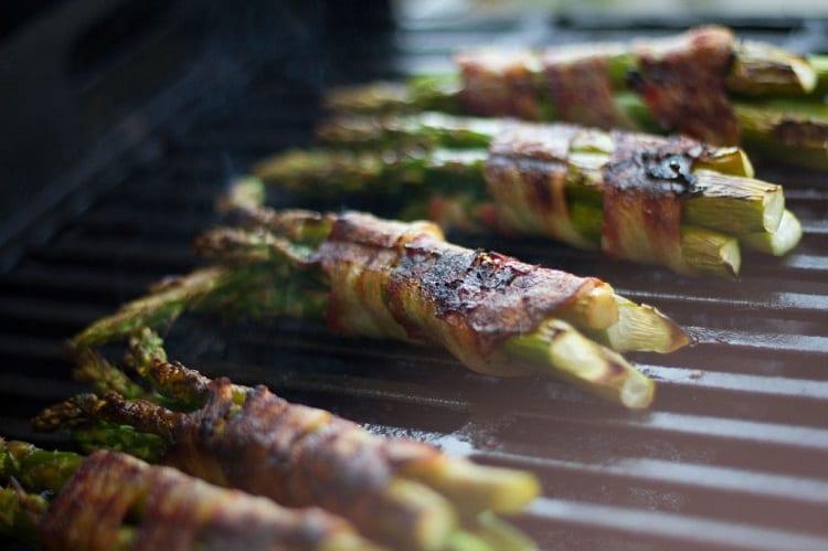 Bacon Wrapped Asparaguse Spears