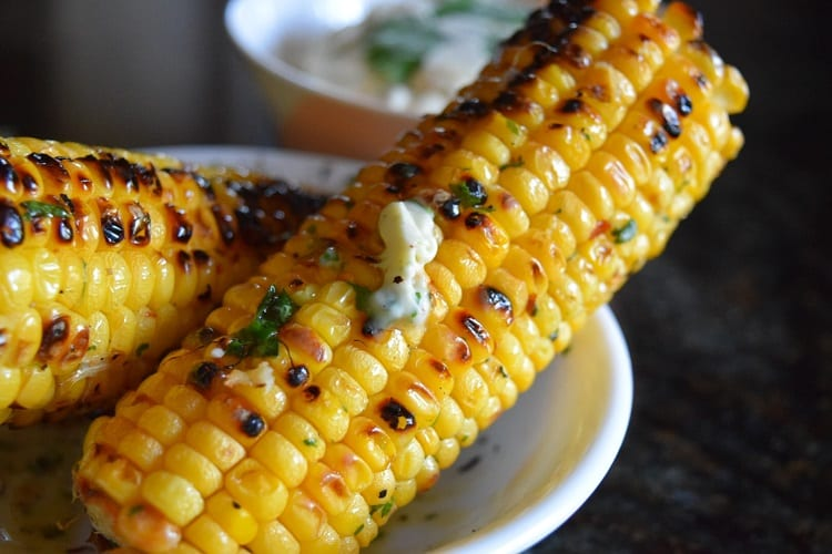 Garlic Butter Corn On The Cob