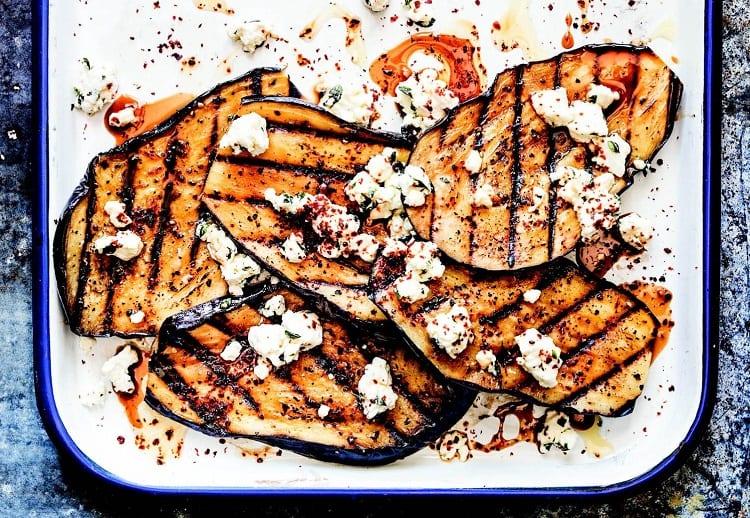 Spiced Eggplant Slabs