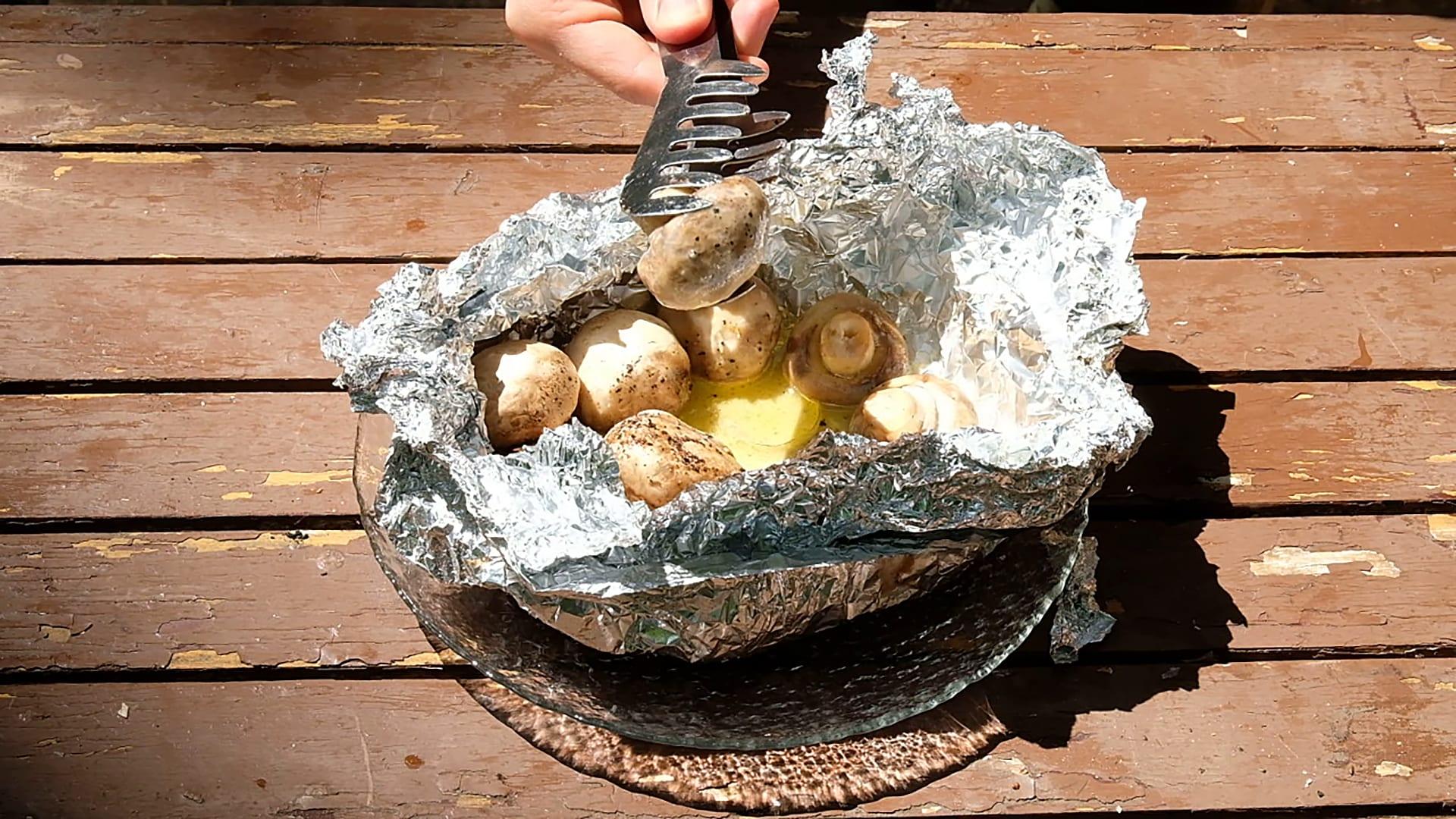 Grilling Aluminium Foil