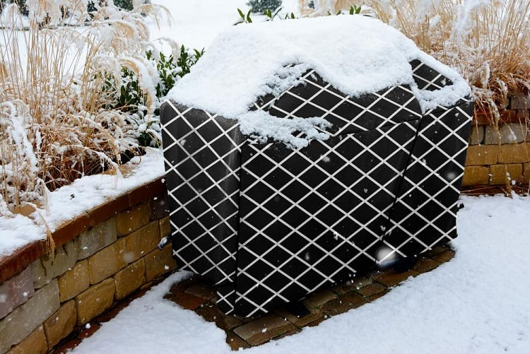 Snow On Grill