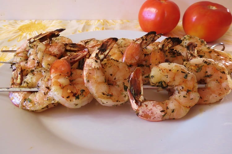 Grill Restaurant Shrimp