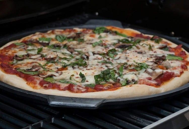 Pizza On Plancha