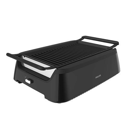 Philips Kitchen Appliances Smokeless Indoor Grill