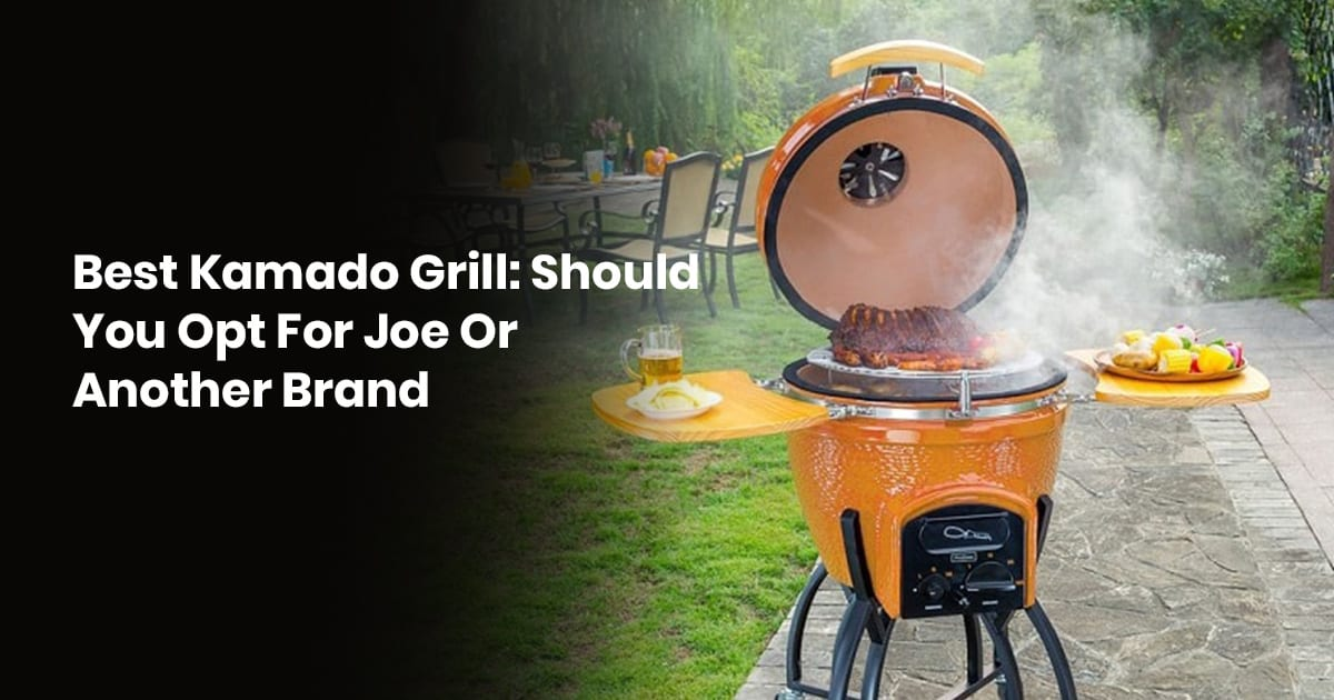 Best Kamado Grill Should You Opt For Joe Or Another Brand